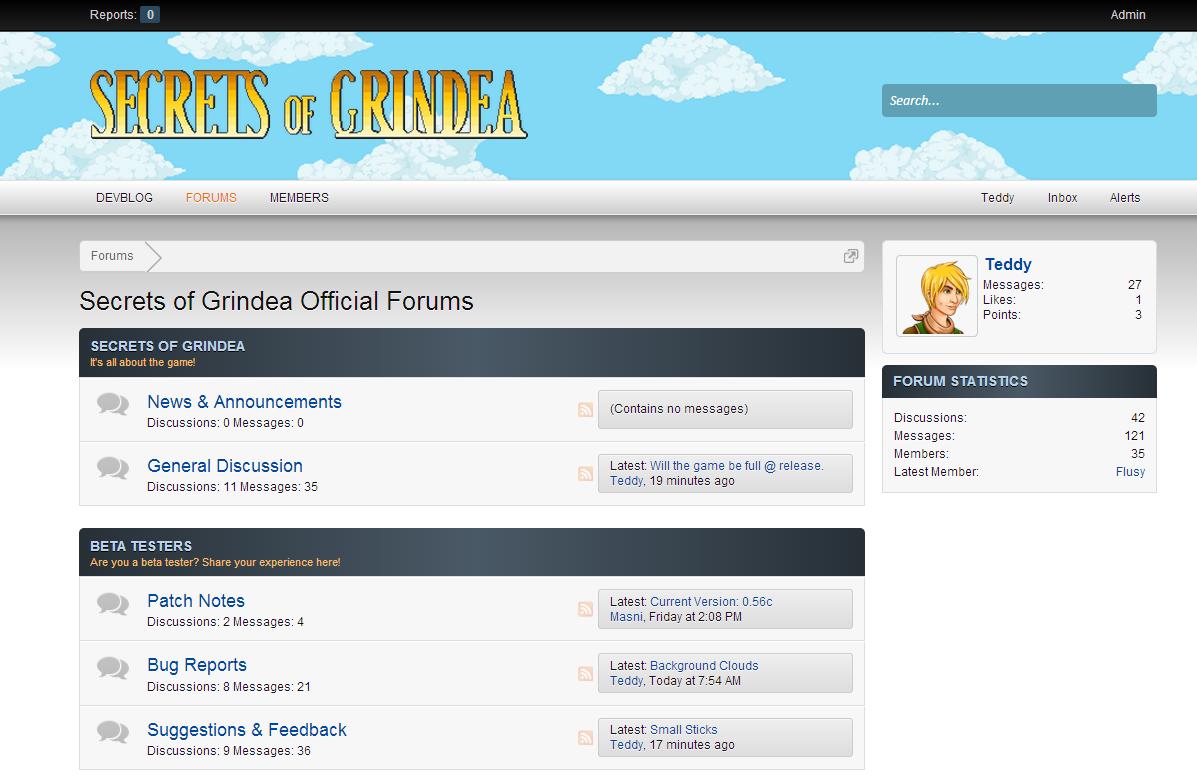 Forumscreen